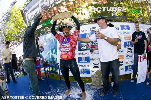 Bobby Martinez Billabong Pro Mundaka Winner