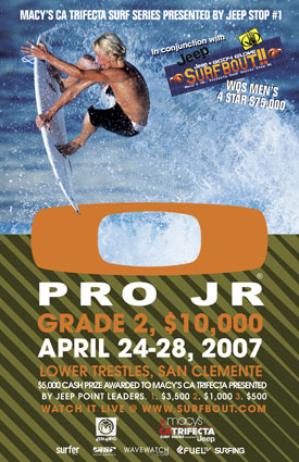Oakley Pro Jr Newport Beach Surf Contest