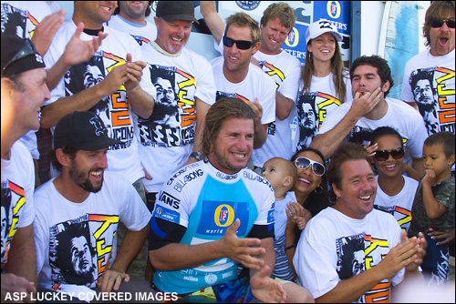 Occy Retires.  Photo ASP Tostee