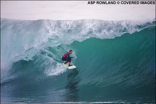 Kai Otten, Rip Curl Pro Chile Surf Contest.  Pic credit ASP Tostee.