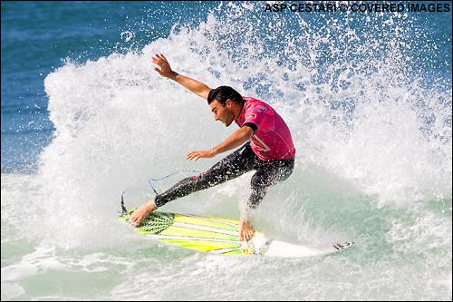 Joel Parkinson Quiklsilver Pro France Surf Contest