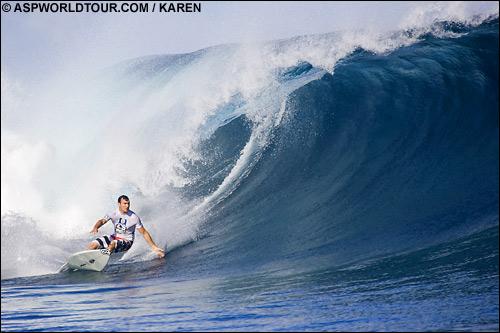 Joel Parkinson Globe Pro Fiji 2006