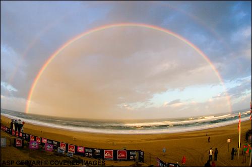 Quiksilver Pro France Surf Contest Rainbow