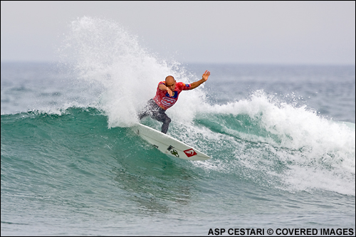 Kelly Slater Billabong Pro Mundaka Surf Contest