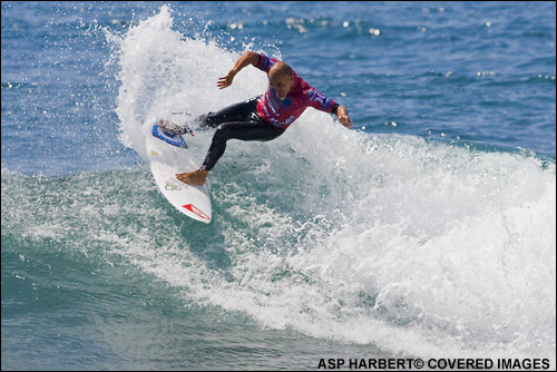 Kelly Slater Boost Mobile Pro Surf Contest at Lower Trestles