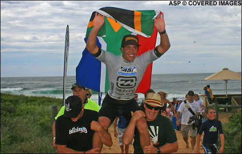 Jordy Smith Winner ASP World Junior Championship