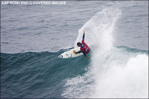 Chris Ward Rip Curl Pro Chile Surf Contest Highest Wave Score