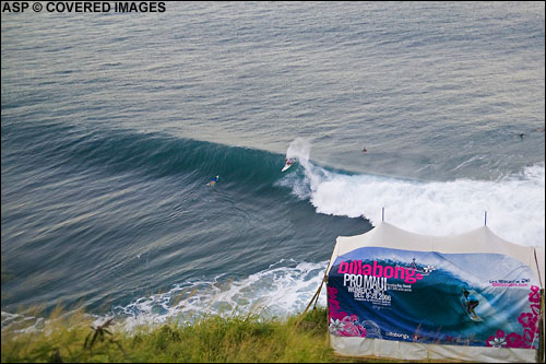 Billabong Pro Honolua Maui. Pic Credit ASP Tostee