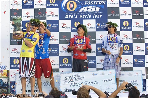 Andy Irons Wins The Pipe Masters.  Pic Credit ASP Tostee