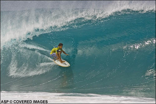 Rob Machado Pipeline.  Pic Credit ASP Tostee