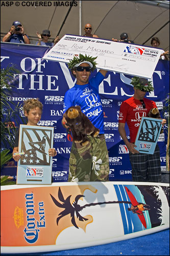 US Open of Surfing Winner Rob Machado picture credit ASP Tostee