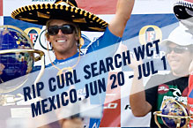 Andy Irons Wins the Rip Curl Pro Search Mexico. Picture credit ASP Tostee