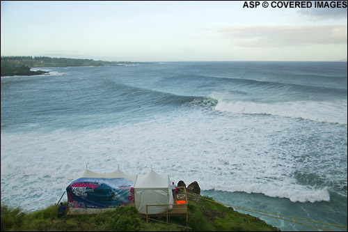 Billabong Pro Honolua Bay Maui Pic credit ASP Tostee